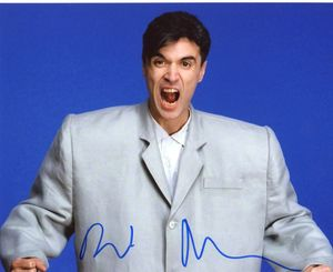 David Byrne Signed 8x10 Photo