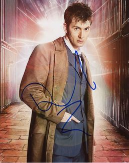 David Tennant Signed 8x10 Photo
