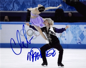 Meryl Davis & Charlie White Signed 8x10 Photo - Video Proof