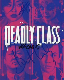 Deadly Class Signed 8x10 Photo