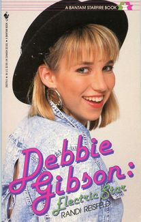 Debbie Gibson Signed Book