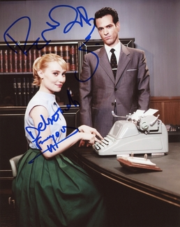 Deborah Francois & Romain Duris Signed 8x10 Photo - Video Proof