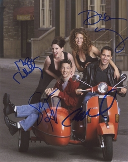 Will & Grace Signed 8x10 Photo - Video Proof