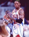 Dennis Rodman Signed 8x10 Photo