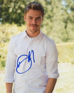 Derek Hough Signed 8x10 Photo - Video Proof