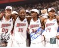 Swin Cash & Ruth Riley Signed 8x10 Photo