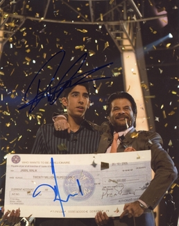Dev Patel & Anil Kapoor Signed 8x10 Photo - Video Proof