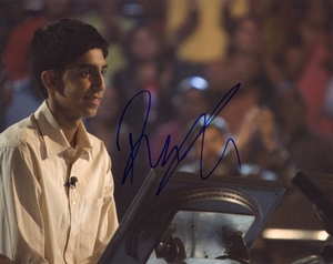 Dev Patel Signed 8x10 Photo - Video Proof