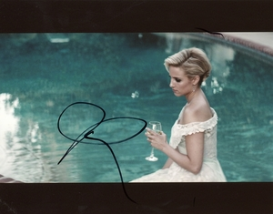 Dianna Agron Signed 8x10 Photo - Video Proof