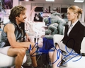 Ben Stiller & Christine Taylor Signed 8x10 Photo