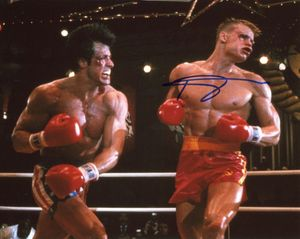 Dolph Lundgren Signed 8x10 Photo