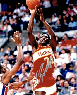 Dominique Wilkins Signed 8x10 Photo