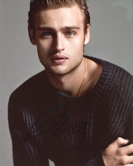 Douglas Booth Signed 8x10 Photo