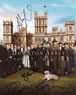 Downton Abbey Signed 8x10 Photo