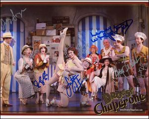 Drowsy Chaperone Signed 8x10 Photo