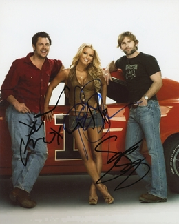 Dukes of Hazzard Cast Signed 8x10 Photo