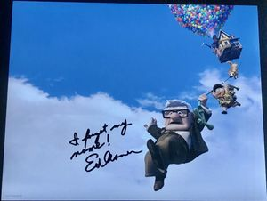 Ed Asner Signed 11x14 Photo