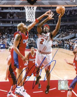 Eddy Curry Signed 8x10 Photo
