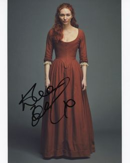 Eleanor Tomlinson Signed 8x10 Photo