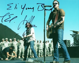 Eli Young Band Signed 8x10 Photo