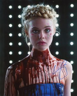 Elle Fanning Signed 8x10 Photo - Video Proof
