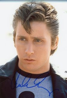 Emilio Estevez Signed 8x10 Photo - Video Proof