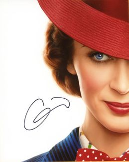 Emily Blunt Signed 8x10 Photo