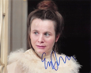 Emily Watson Signed 8x10 Photo - Video Proof