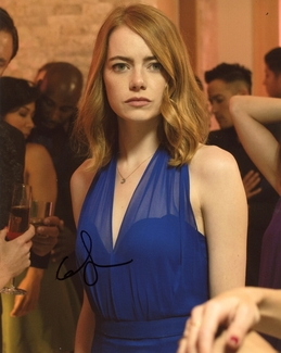 Emma Stone Signed 8x10 Photo - Video Proof