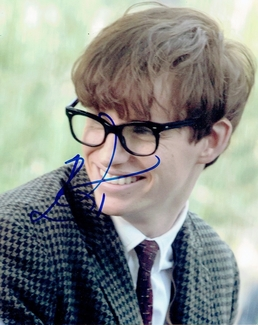 Eddie Redmayne Signed 8x10 Photo - Video Proof