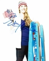 Erin Hamlin Signed 8x10 Photo