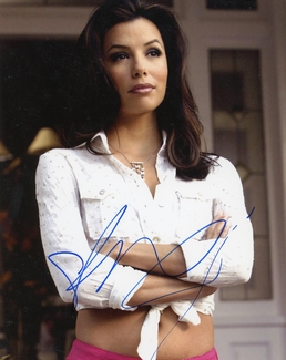 Eva Longoria Signed 8x10 Photo