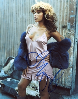 Eve Signed 8x10 Photo