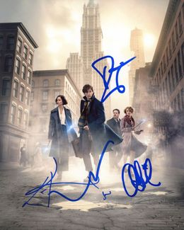 Fantastic Beasts Signed 8x10 Photo