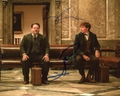 Eddie Redmayne & Dan Fogler Signed 8x10 Photo - Video Proof
