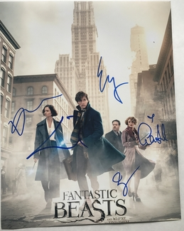 Fantastic Beasts Signed 11x14 Photo - Video Proof