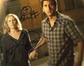 Cliff Curtis & Kim Dickens Signed 8x10 Photo