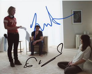 Jamie Dornan & Sam Taylor-Johnson Signed 8x10 Photo