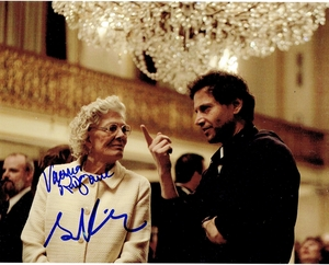 Bennett Miller & Vanessa Redgrave Signed 8x10 Photo - Video Proof