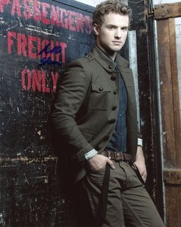 Freddie Stroma Signed 8x10 Photo