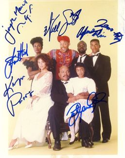The Fresh Prince of Bel-Air Signed 8x10 Photo