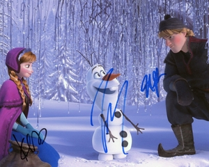Frozen Signed 8x10 Photo