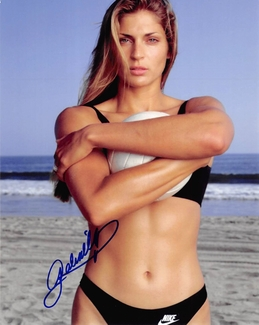 Gabrielle Reece Signed 8x10 Photo