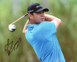 Gary Woodland Signed 8x10 Photo