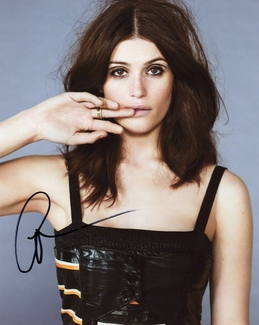 Gemma Arterton Signed 8x10 Photo