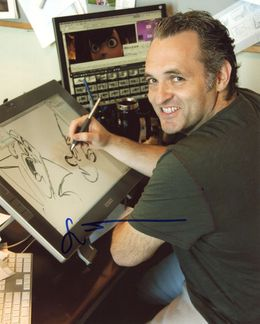 Genndy Tartakovsky Signed 8x10 Photo