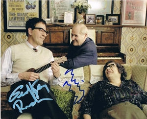 Geoffrey Rush & Miriam Margolyes Signed 8x10 Photo