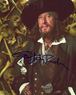 Geoffrey Rush Signed 8x10 Photo