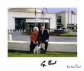 George & Barbara Bush Signed 8x10 Photo