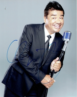 George Lopez Signed 8x10 Photo - Video Proof